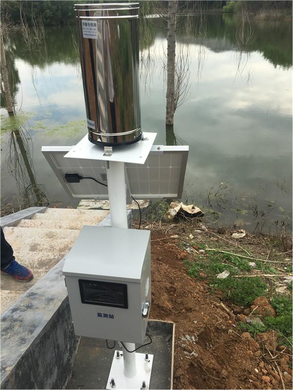 自动雨量站水位监测站让青州水库更安全