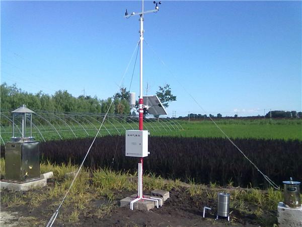 农业多功能自动气象站落户山东省指导农业生产