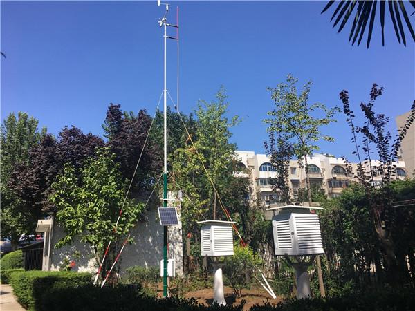 中学校园气象站中心平台,为学生提高综合素质